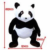 Büyük Panda Peluş Ayı 115cm-4