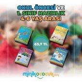 Sihirli Kitaplar Seti 4 6 Yaş Çocuklar İçin