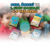 Sihirli Kitaplar Seti 4-6 Yaş Çocuklar için