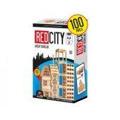 Red City Ahşap Bloklar 100 Parça Redka Akıl...