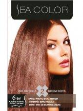 Sea Color Saç Boyası 6.68 Kadife Kahve