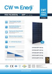 280W Watt Güneş Paneli Monokristal Solar Panel Suneng-2