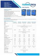 Tommatech New 5 Kva Tam Sinüs İnvertör  6250VA 5000W 48V-3