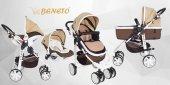 Beneto 500 Tavel Sistem Pusetli Bebek Arabası YAĞMURLUK HEDİYE-9