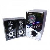 Music Dj 9100a 2+1kablosuz Ev Sinema Ses Sistemi
