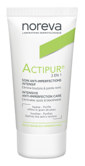Noreva Actipur İntensive Anti Imperfection Care 3 İn 1 30ml