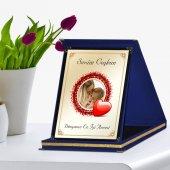 Kişiye Özel Lacivert Plaket (Anneler Günü Temalı)  3