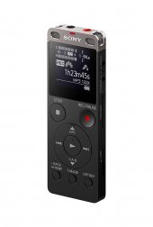 Sony Icdux560blk Stereo Digital Voice Recorder Wit...