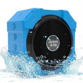 Armor Mine Waterproof Bluetooth Wireless Speaker For Smartphone