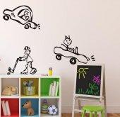 çocuk Odası Sticker Araba Figürlü