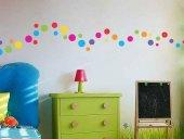 çocuk Odası Duvar Sticker Daireler