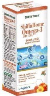 Aksuvital Shiffa Home Omega 3 Balık Yağı Şeftali Aromalı 100 Ml