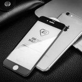 Zore iPhone 6s Plus Ekran Koruyucu 4D Kırılmaz Cam Kenarları Tam Kaplayan-2