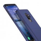 Samsung Galaxy S9 Plus Slimline Lacivert Kılıf Arka Koruyucu Kapak-2