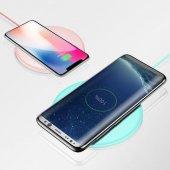 Baseus Donut Qi Pembe Wireless Hızlı Şarj Cihazı-2