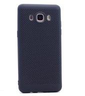 Samsung Galaxy J5 2016 Kılıf Mesh Delikli Silikon Kapak + Kırılmaz Cam Ekran Koruyucu-5