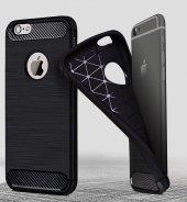 iPhone 6s Plus Silikon Kılıf Rush Arka Kapak + Ekran Koruyucu Temperli Cam-8