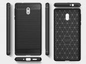 Nokia 3 Kılıf Rush Arka Kapak + Ekran Koruyucu Temperli Cam-7