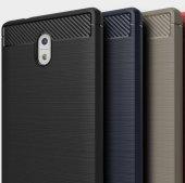 Nokia 6 Kılıf Rush Arka Kapak + Ekran Koruyucu Temperli Cam-2