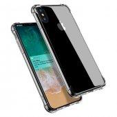 Apple iPhone X Shield Şeffaf Kılıf Arka Koruyucu Kapak-3