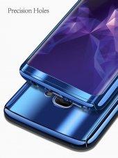 Samsung Galaxy S9 Aynalı Kılıf 360 Ön Arka Full Kapak-3