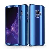 Samsung Galaxy S9 Aynalı Kılıf 360 Ön Arka Full Kapak-5