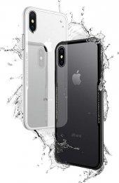 iPhone X Kılıf Kablosuz Şarj Uyumlu Xraft Arka Kapak + Ekran Koruyucu Temperli Cam-2
