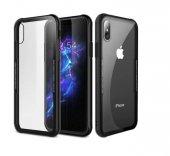 iPhone X Kılıf Kablosuz Şarj Uyumlu Xraft Arka Kapak + Ekran Koruyucu Temperli Cam-3