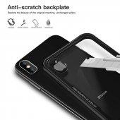 iPhone X Kılıf Kablosuz Şarj Uyumlu Xraft Arka Kapak + Ekran Koruyucu Temperli Cam-5