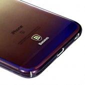 Baseus Glaze Mor iPhone 6 6S Kılıf Arka Koruyucu Kapak-3