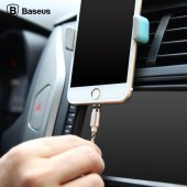 iPhone 5 6 6S 7 Plus Manyetik Şarj Kablosu Baseus Insnap 100cm Gold-3