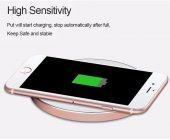 iPhone 7 Plus Kablosuz Şarj Adaptörü Lightning Wireless Şarj Aparatı-5