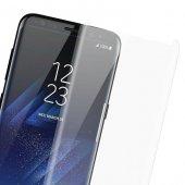 Samsung Galaxy S9 Plus Kavisli Ekran Koruyucu Şeffaf-2