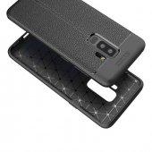 Samsung Galaxy S9 Plus Silikon Siyah Kılıf Arka Koruyucu Kapak-2