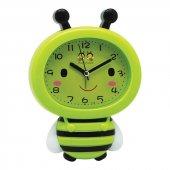 Renkli Arı Maya Çocuk Odası Alarmlı Çalar Masa Saati-3