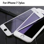 Iphone 7 7 Plus 3d Cam Renkli Ekran Komple Kavisli Kırılmaz Cam