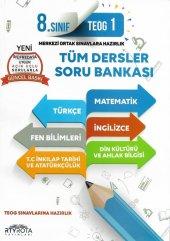 8.sınıf Teog Tüm Dersler Soru Bankası Rty Rota...