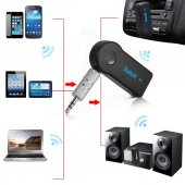 Bluetooth Aux Araç Kiti + Mıknatıslı Araç Tutucu...