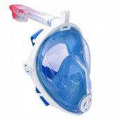 Tam Yüz Maske Dalış Maskesi Antifog Şnorkel-2