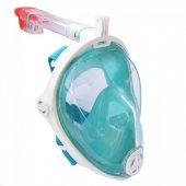 Tam Yüz Maske Dalış Maskesi Antifog Şnorkel-4