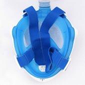 Tam Yüz Maske Dalış Maskesi Antifog Şnorkel-7