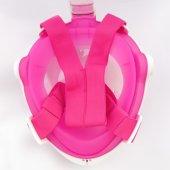 Tam Yüz Maske Dalış Maskesi Antifog Şnorkel-8