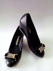 Ispartalılar Bayan Dolgu Topuk Yarı Ortapedi Günlük Ayakkabı