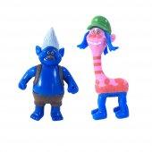 2Li Trolls Figür Oyuncak Yağmur Ormanı Şans Bebekleri- Tbg256562