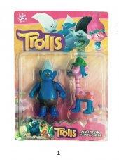 2Li Trolls Figür Oyuncak Yağmur Ormanı Şans Bebekleri- Tbg256562-2
