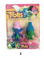2Li Trolls Figür Oyuncak Yağmur Ormanı Şans Bebekleri- Tbg256562-3
