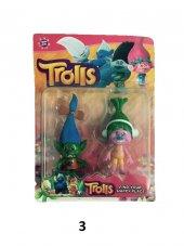 2Li Trolls Figür Oyuncak Yağmur Ormanı Şans Bebekleri- Tbg256562-4