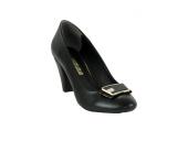 Ispartalılar 789 Rahat Taban Cilt Deri Bayan Topuklu Ayakkabı