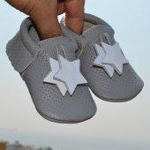 Yıldız Makosen Bebek Ayakkabı Gri Cv 158