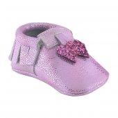 Kalpli Makosen Bebek Ayakkabı Pembe Cv 151